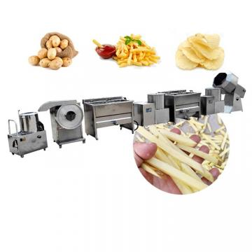 Sweet Potato Chips Deep Fryer Banana Chips Production Line French Fries Frying Machine