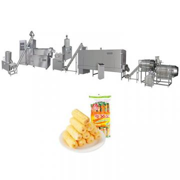 Twist Snack Potato Pellets Making Machinery/Corn Curls Food Extruder