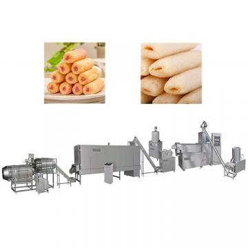 J Shape Corn Puff Snack Extruder for Ice Cream