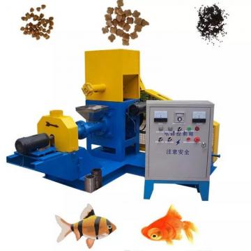 Aquarium Fish Feed Processing Machinery Floating Fish Food Extruder