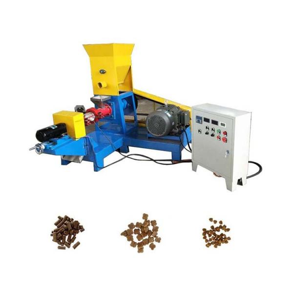 Factory Supply Cheap Price Floating Fish Feed Pellet Extruding Machine #1 image