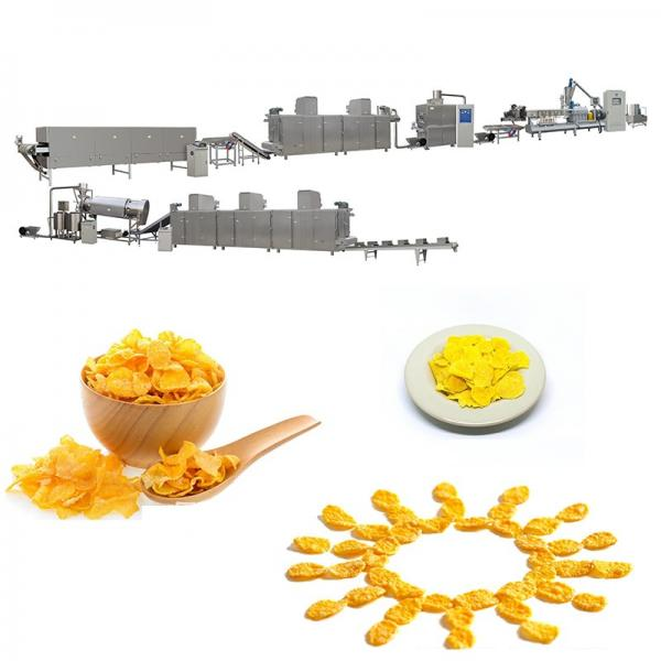 Healthy Breakfast Cereal Cornflakes Process Line Produciton Machine/Puffed Corn Flakes Production Line #1 image