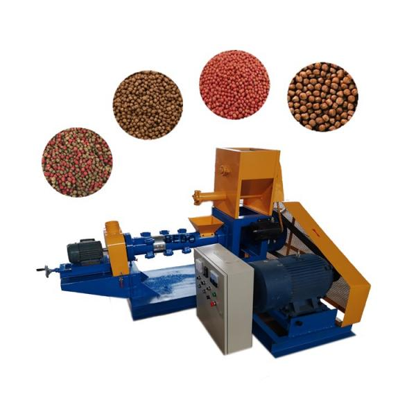 Tse65/70/85/90/95/120 2019 Wholesale Tilapia Floating Fish Feed Pellet Machine Extruder for Fish Food #1 image