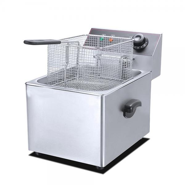 Best Quality Commercial Chiken Meat Donut Continuous Fryer #1 image