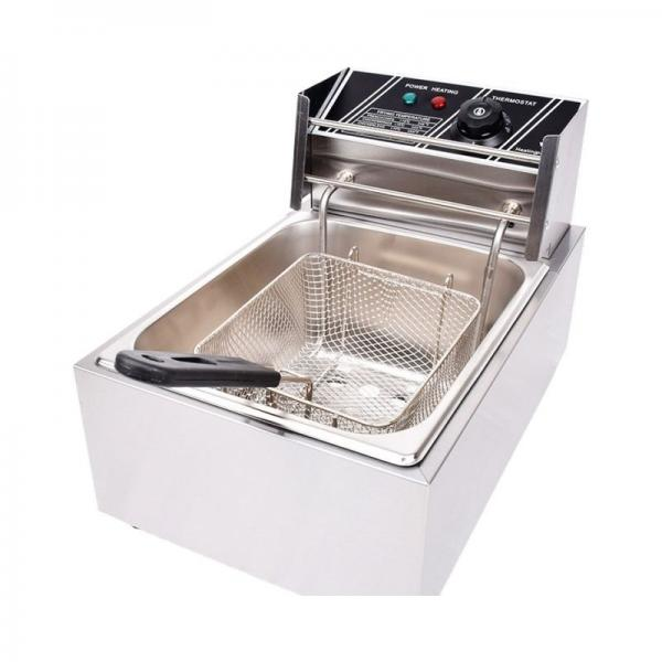 Fully Automatic Small Continuous Fry Snack Food Industrial Deep Belt Fryer #1 image