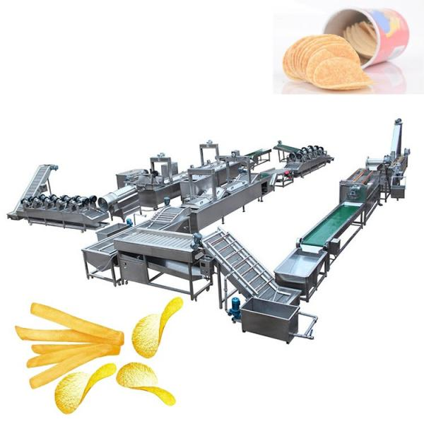 Small Scale Automatic French Fries Potato Chips Making Machine Price #1 image
