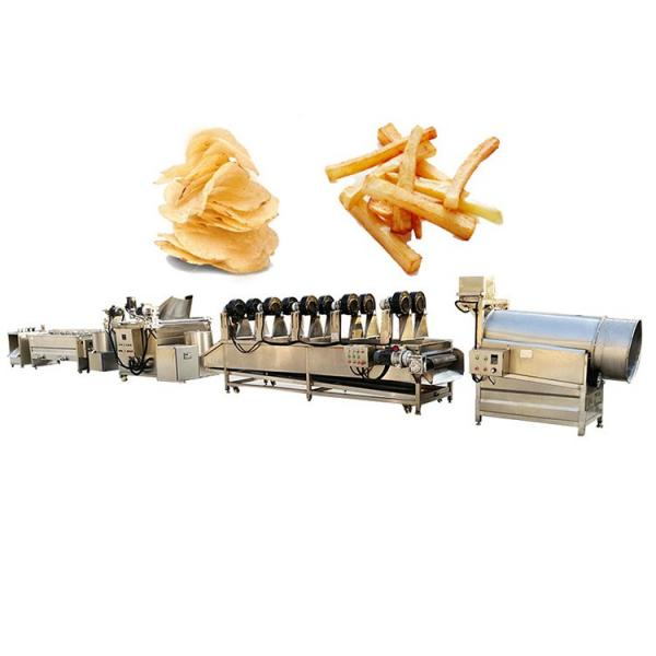 Industrial Snack Food Sweet Potato Flakes Chips Maker Making Machine #1 image