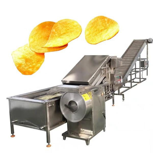 Industrial Snack Food Sweet Potato Flakes Chips Maker Making Machine #2 image