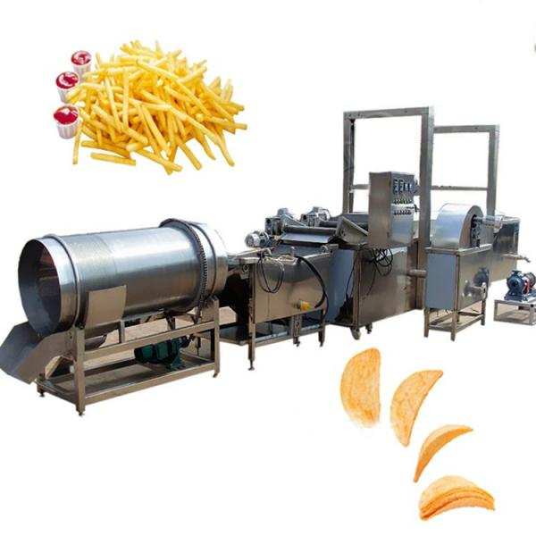 Industrial Snack Food Sweet Potato Flakes Chips Maker Making Machine #3 image