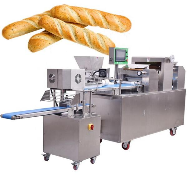 Bread Pastry Hamburger Bun Running Processing Production Line Factory #3 image
